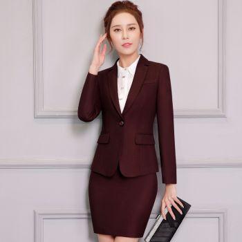 Đồ Vest Nữ Quản Lí Đặt May Phong Cách Hàn Quốc - MDQL0011