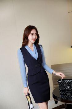 đồng phục công sở áo vest gile nữ