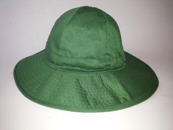 Mũ Bảo Hộ Tai Bèo Đẹp Màu Xanh