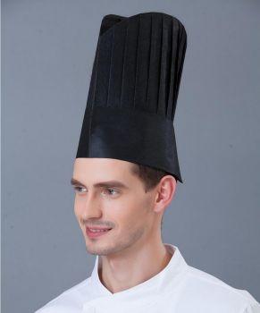 Mũ Bếp Trưởng Màu Đen Phong Cách Châu Âu - MNDB0016