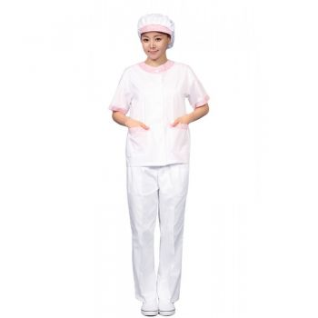 Quần áo bảo hộ phòng sạch dành cho nữ an toàn sức khỏe.