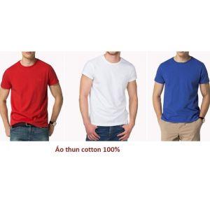 Áo Thun Trơn 100 Cotton Nhiều Màu - MTCO0018
