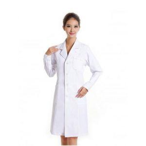 Đồng Phục Áo Blouse Bác Sỹ Nữ Tay Dài - MABS0011