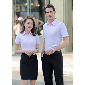Đồng phục áo sơ mi kiểu dáng đẹp cho nữ - MSNU0007